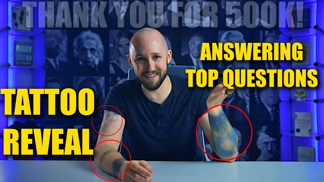 Nonverbal Analyst Answers Your Top Questions and Reveals Tattoos | Thank You For 500k