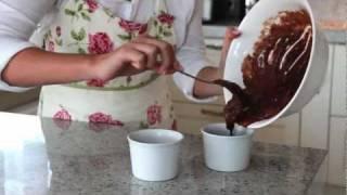 Deser - Czekoladowy Fondant - Przepisy Kulinarne Golden Drop