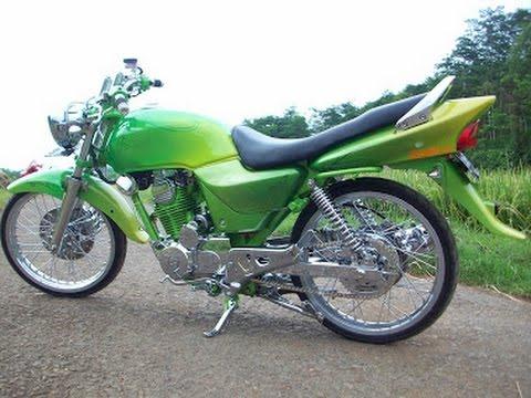 Variasi Motor Megapro 2005  paling bagus