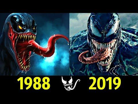 😈 Веном - Эволюция (1988 - 2019) ! Все Появления Симбиота !
