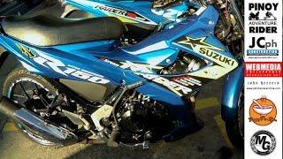 RAIDER 150 MotoGP BLUE at MOTORTRADE, Concepcion, MARIKINA