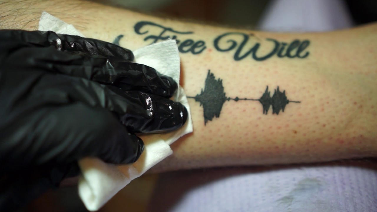 483e4925e Soundwave Tattoos - Tattoos you can hear - YouTube