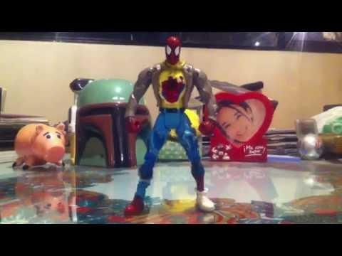 Toy Biz Spider Power Street Warrior Spider-Man HD Review