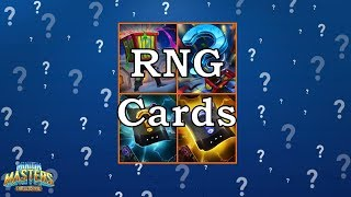 [Minion Masters] RNG Cards