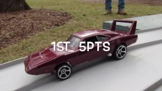 HOT WHEELS FANTASY RACING- D4L- WNTR17#5 (FAST N FURIOUS CARS)