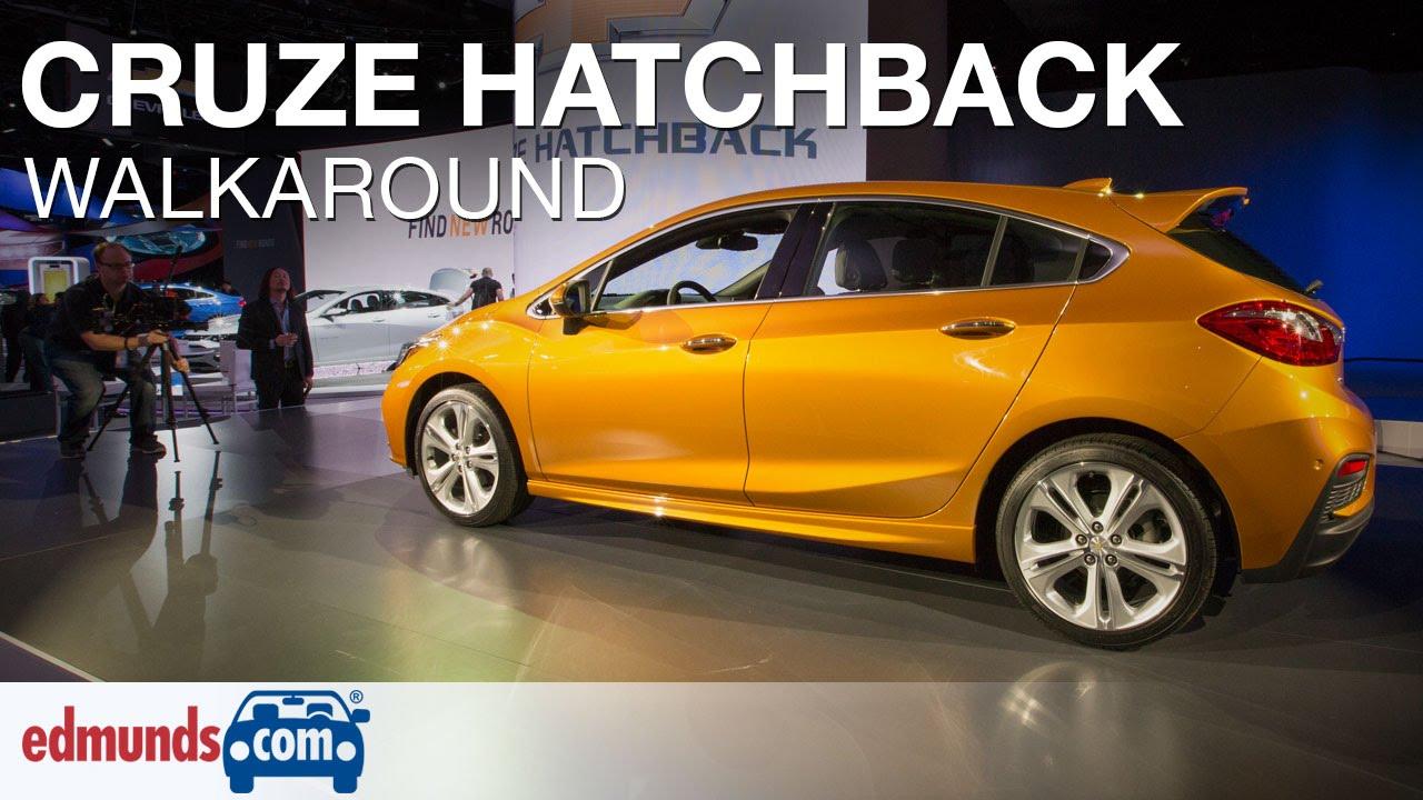 2017 chevrolet cruze hatchback walkaround review detroit auto show youtube [ 1280 x 720 Pixel ]