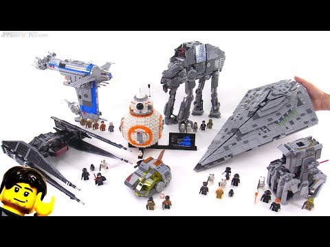 LEGO Star Wars The Last Jedi full wave mini-review!
