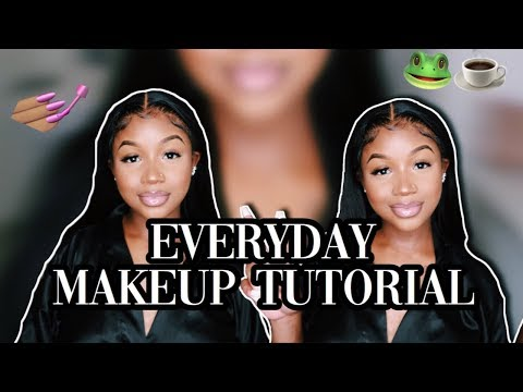 EVERYDAY MAKEUP TUTORIAL |  SHANADADON thumbnail