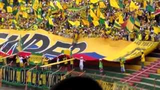 Himno de Santander Bucaramanga 1-1 Jaguares
