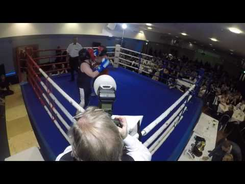 Ultra White Collar Boxing | Leicester | Room 1 | Carlos The Jackal VS Charlie Walton