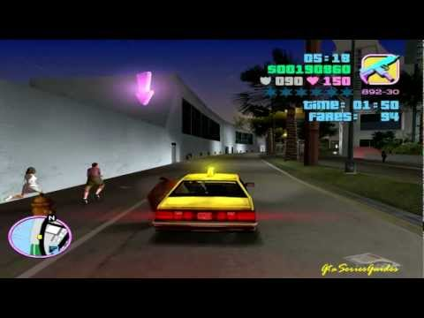 GTA: Vice City Side Mission - Taxi Driver