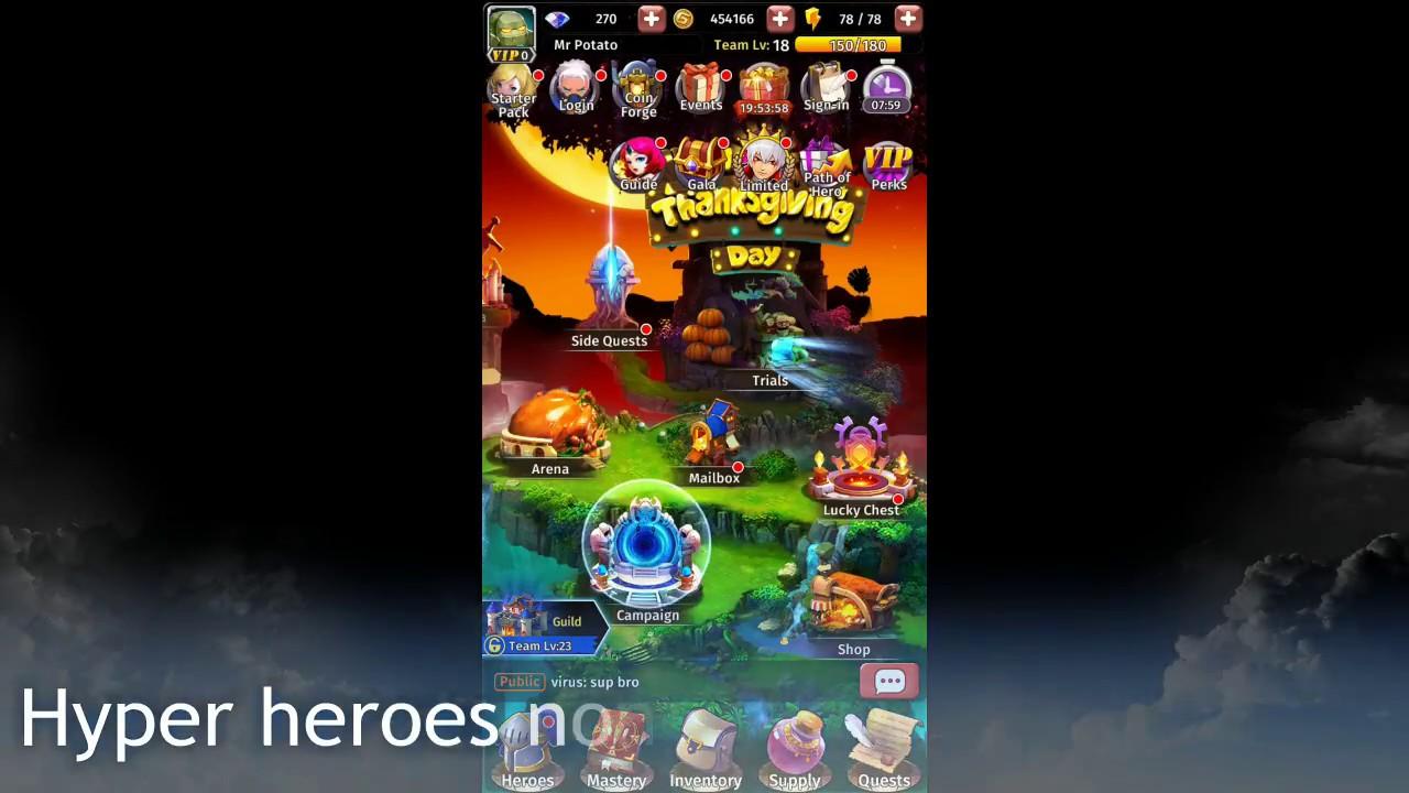 Hyper Heroes Tipps