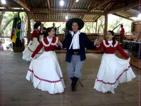 Xote Das Duas Damas CTG Rancho de Gauderios - Rodeio Fagundes Vla
