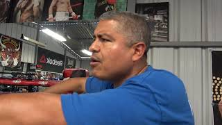 josesito lopez 147 sparring Falcao 160 EsNews Boxing