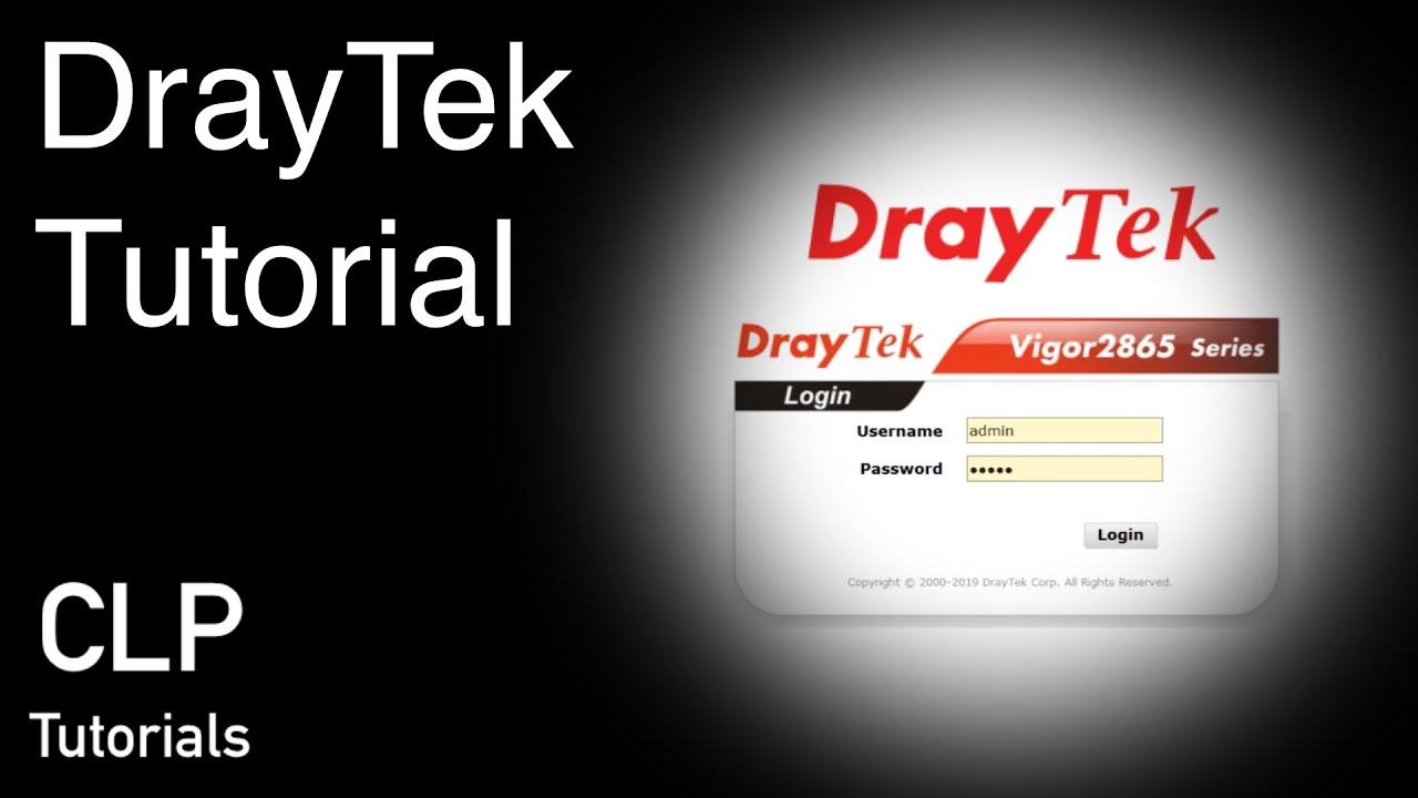 DrayTek Tutorial - iPhone SSL VPN per Smart VPN App