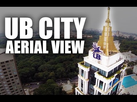 UB City Bangalore Aerial View