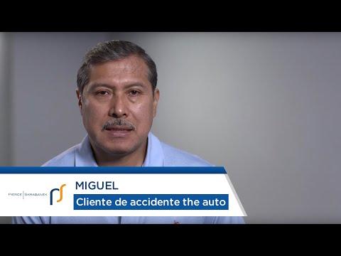Abogados de Accidentes Automovilísticos Pierce Skrabanek | Cliente de Accidente de Auto Miguel
