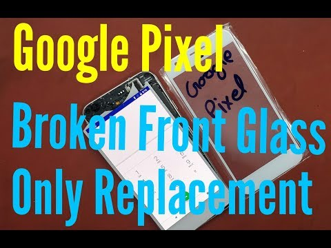 Google Pixel FRONT GLASS ONLY REPLACEMENT