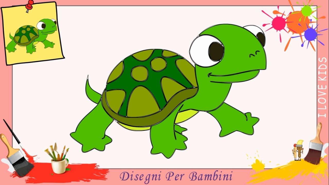 Disegni di tartaruga come disegnare una tartaruga facile for Disegni di natale facili per bambini