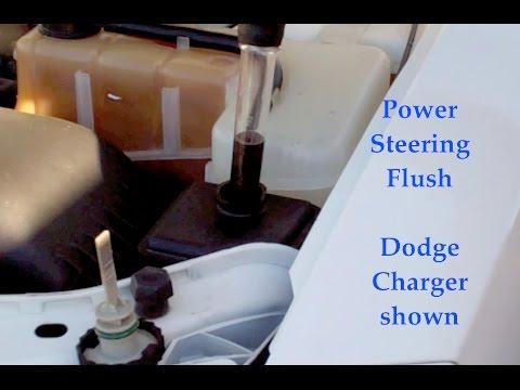 Dodge Charger power steering fluid flush