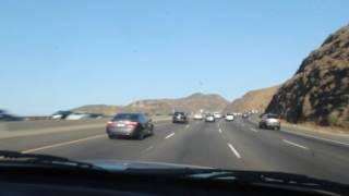 On the road taking the Brat to Azusa