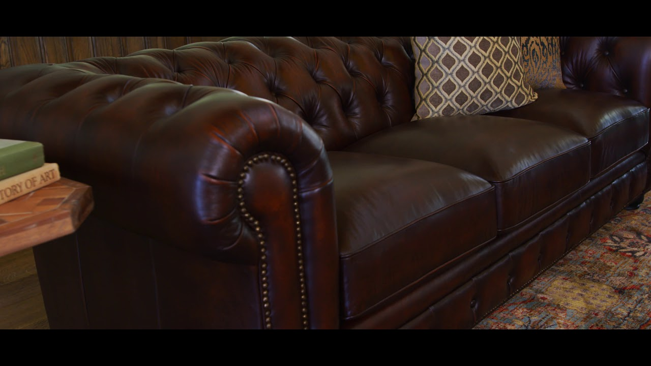 Winston Leather Sofa Loveseat Set