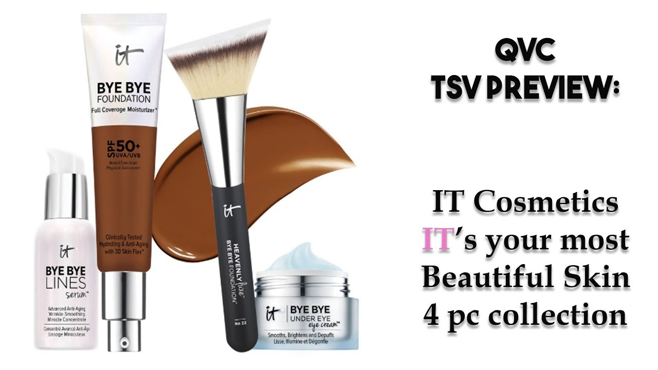 IT Cosmetics It's Your Most Beautiful Skin Collection (QVC TSV Preview)