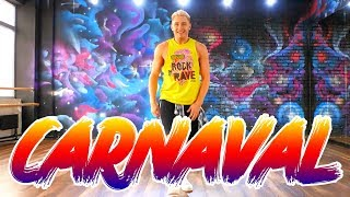 Claudia Leitte - Carnaval ft. Pitbull   ZUMBA FITNESS