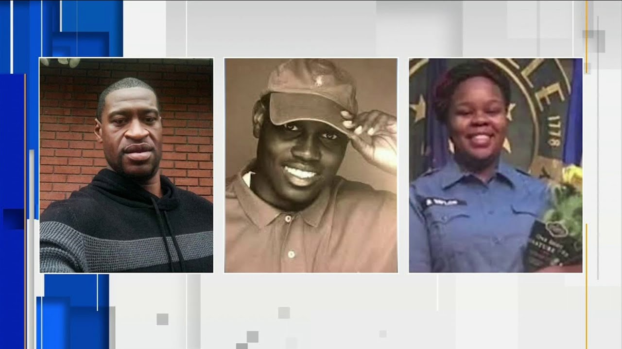 Families Of George Floyd Ahmaud Arbery And Breonna Taylor Call For National Task Force Youtube