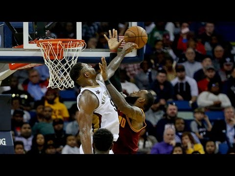 LeBron James PISSED After Terrence Jones BLOCK and STARE DOWN, Pelicans Win Without Anthony Davis