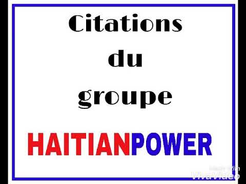 Citations du groupe HAITIAN POWER