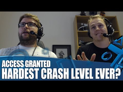 Access Granted - We Take On The Hardest Crash Level Ever!