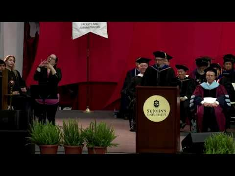 College of Pharmacy and Health Sciences Queens Graduate Commencement Exercises 2018