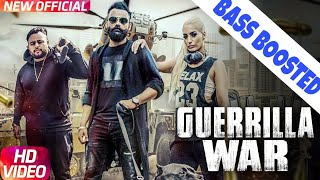 Guerrilla war|amrit maan|beat boosted song|new punjabi songs 2017