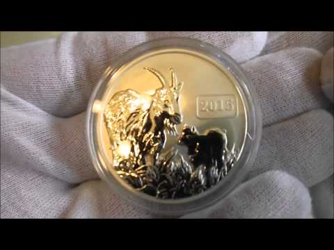 "A silver coin review ""The 2015 Tokelau Goat"""