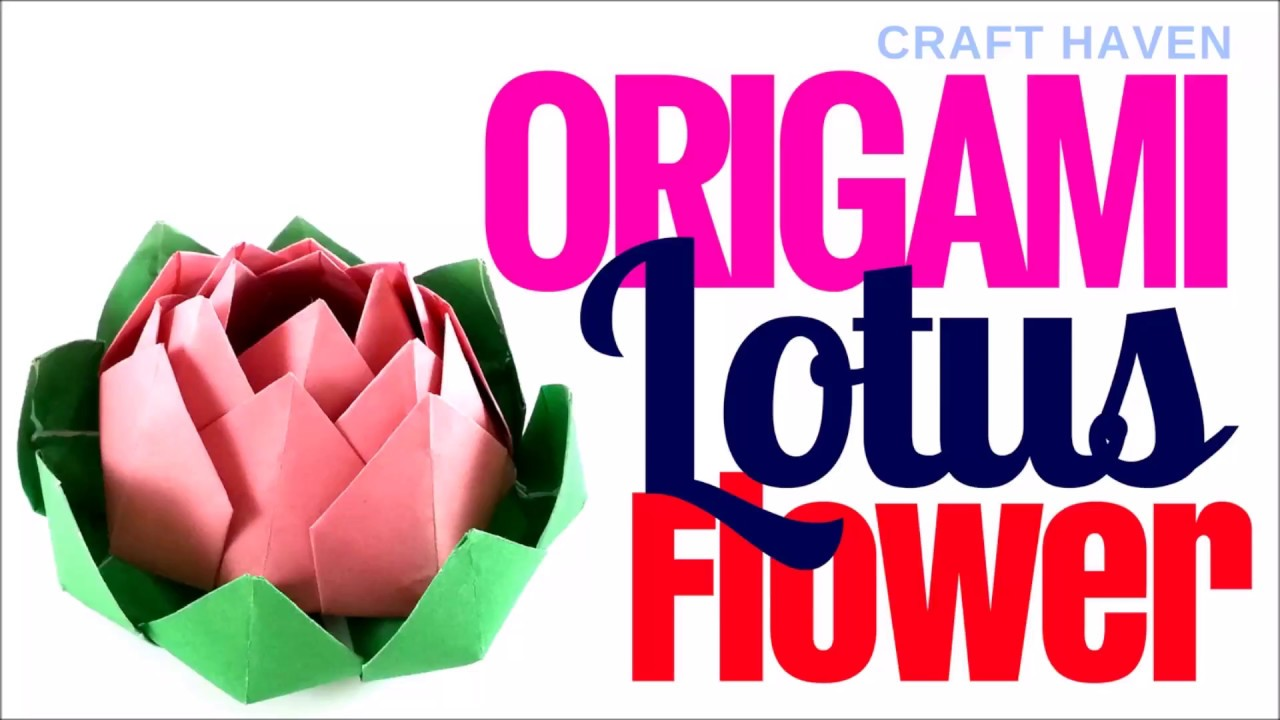 Origami lotus flower how to make easy origami paper flower for origami lotus flower how to make easy origami paper flower for beginners diy instructions izmirmasajfo Images