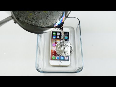 Thumbnail: How To Properly Cook an iPhone 6S in Hot Metal