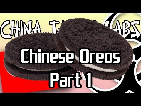 Crazy Chinese Oreos Part 1 - China Taste Labs! [EP12] - Marc Is Hungry
