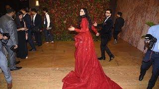 Deepika And Ranveer GRAND ENTRY At Their Mumbai Reception #DeepVeer