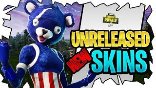TROLLING KIDS ON FORTNITE WITH UNRELEASED SKINS!!