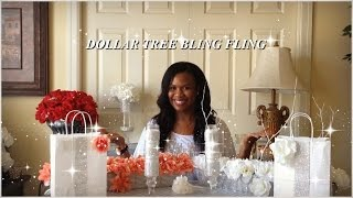 DIY - DOLLAR TREE BLING FLING  💎💎4 EASY AND QUICK DIYS💎💎 FEATURING TOTALLY DAZZLED