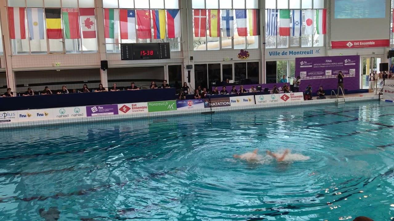 Синхронное плавание | Россия| Open de France | ДУЭТ, Техническая программа
