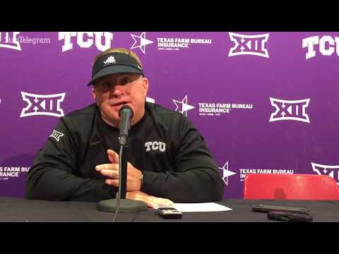 TCU coach Gary Patterson: Shawn Robinson 'doesn't have to be Superman'