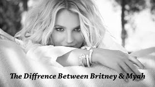 The Difference Between Britney Spears \u0026 Myah Marie's Voice
