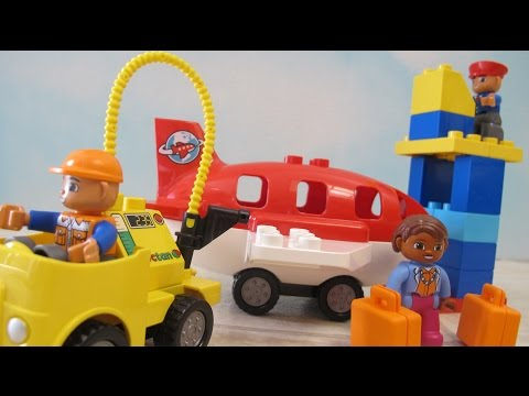 Lego Duplo Airport Playset Unboxing Building Fun Toy Video For