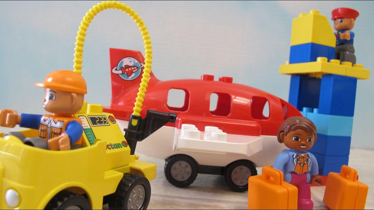 Unboxing Lego Duplo Airport