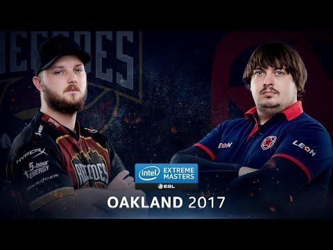 CS:GO - Renegades vs. Gambit [Inferno] - Group B Round 5 - IEM Oakland 2017