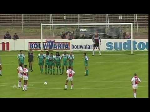 Het debuut van Patrick Kluivert (1994)