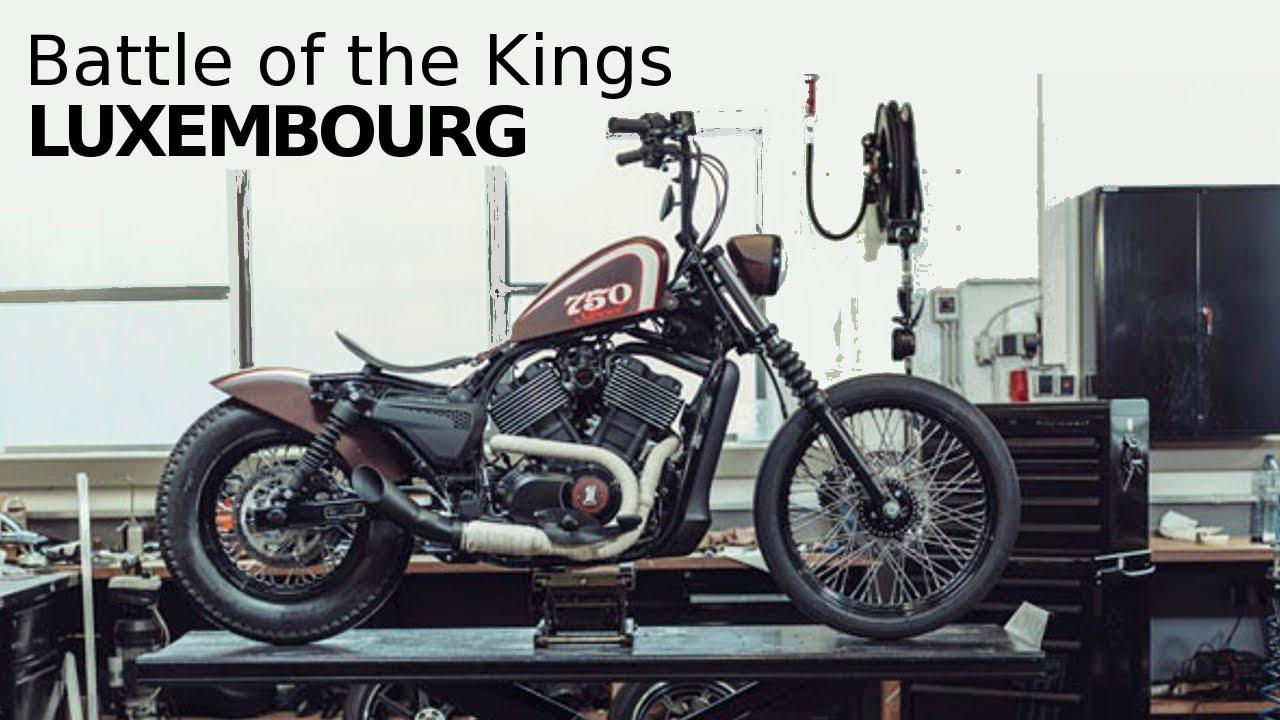 harley 750 street davidson custom luxembourg bobber battle bike la custo