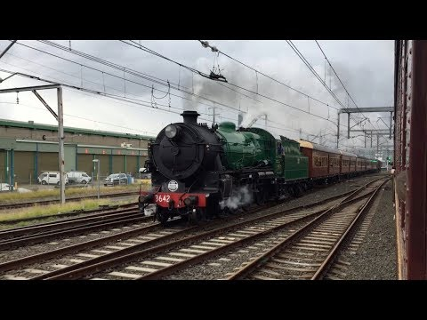 Australian Trains: The Great Steam Race 2017